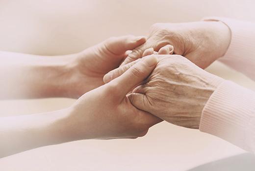 cuidadora personas mayores