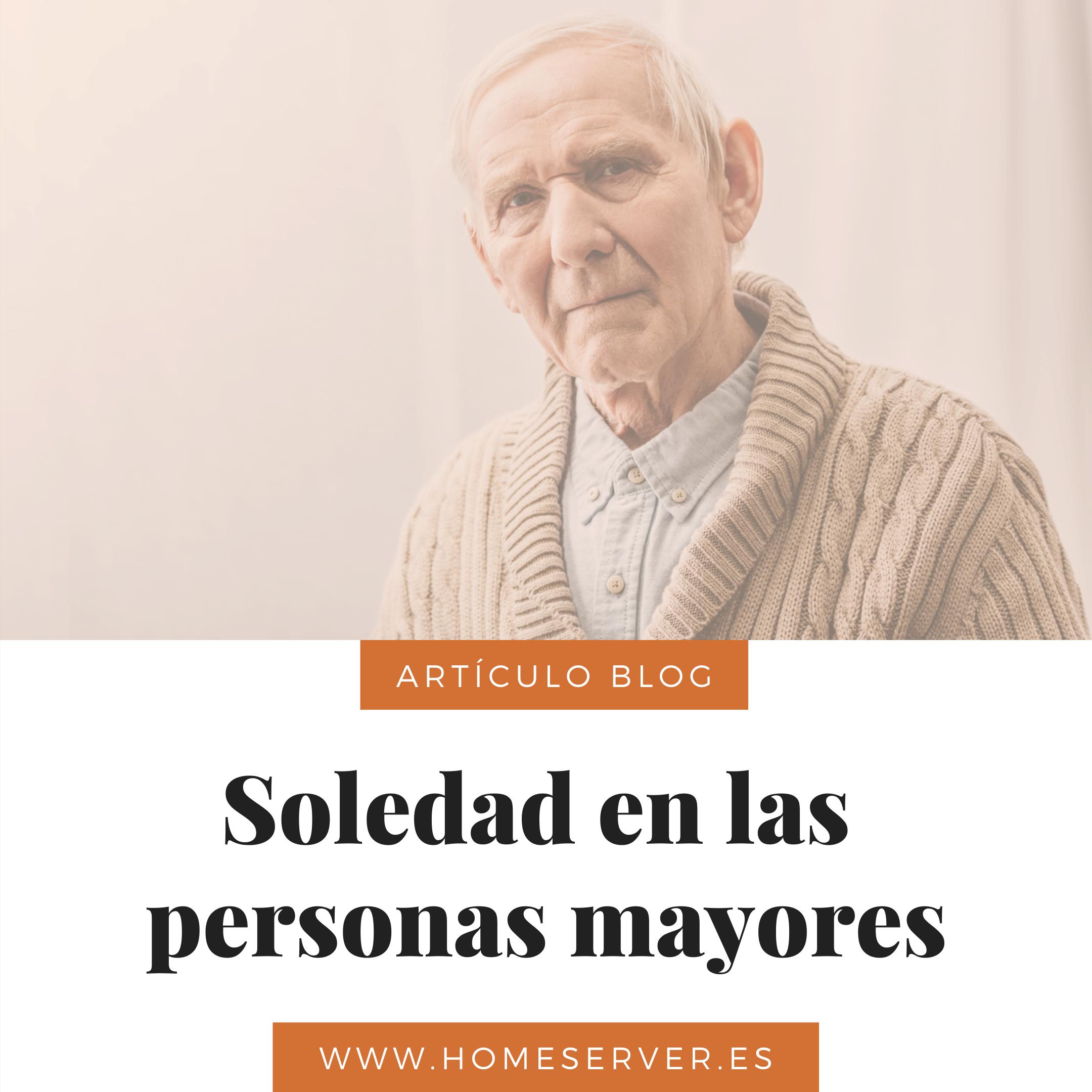 Soledad en las personas mayores