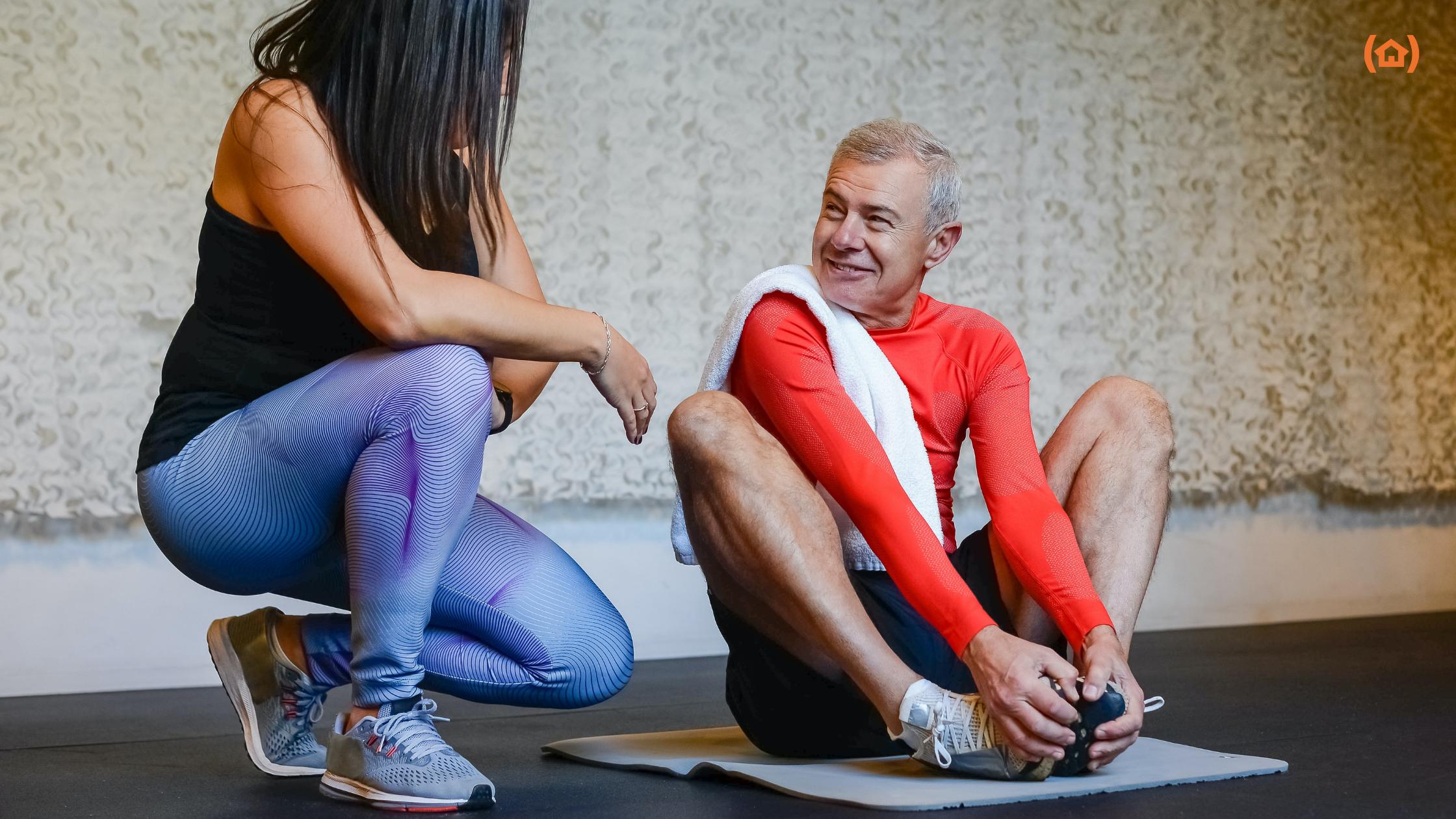 La práctica de ejercicio físico para mayores aporta grandes beneficios a su salud. Por eso, es muy recomendable que se intente llevar a cabo rutinariamente.